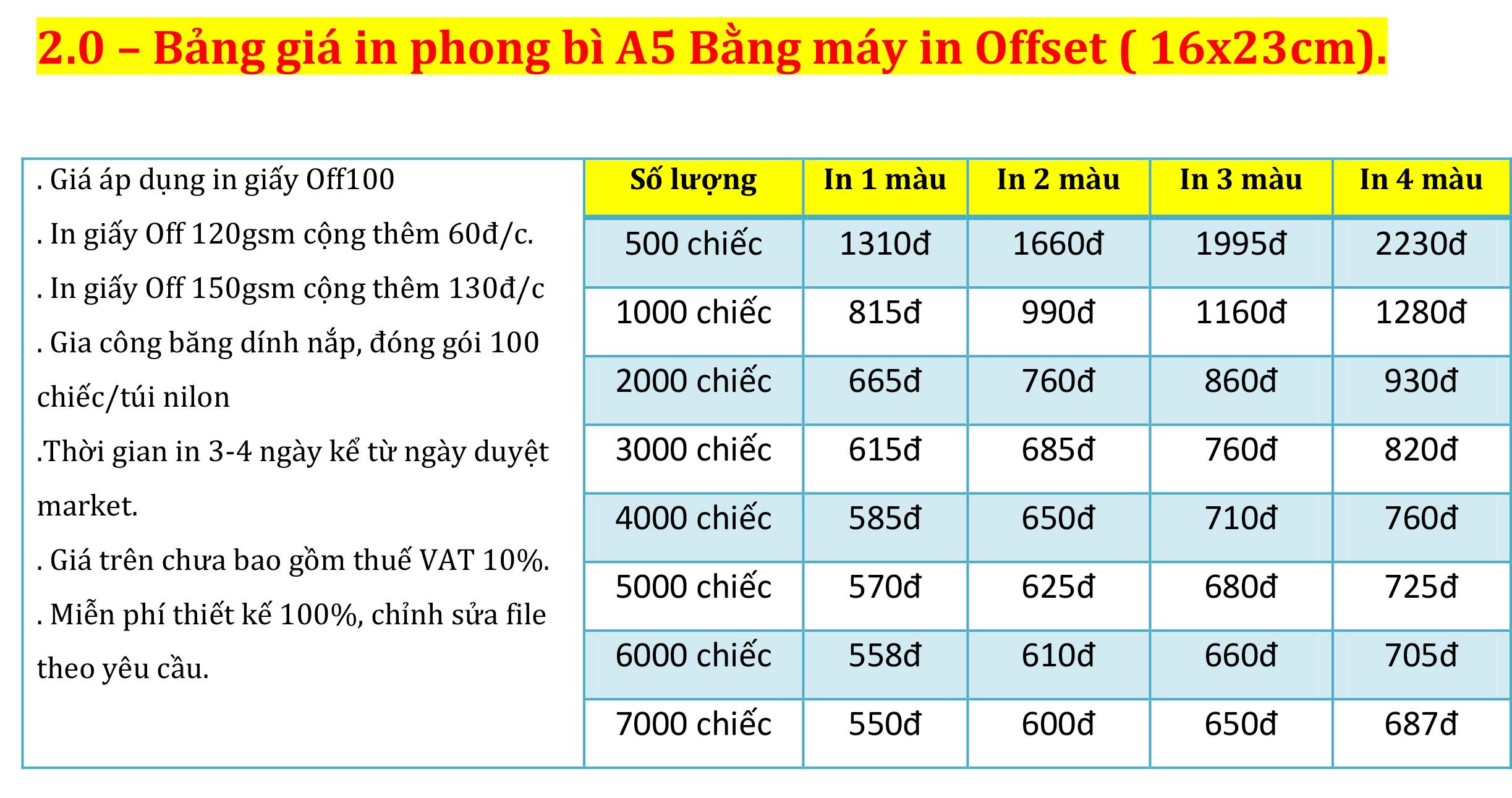 1.2 Bảng giá in phong bì A5 Bằng máy in Offset ( 16x23cm)..jpg
