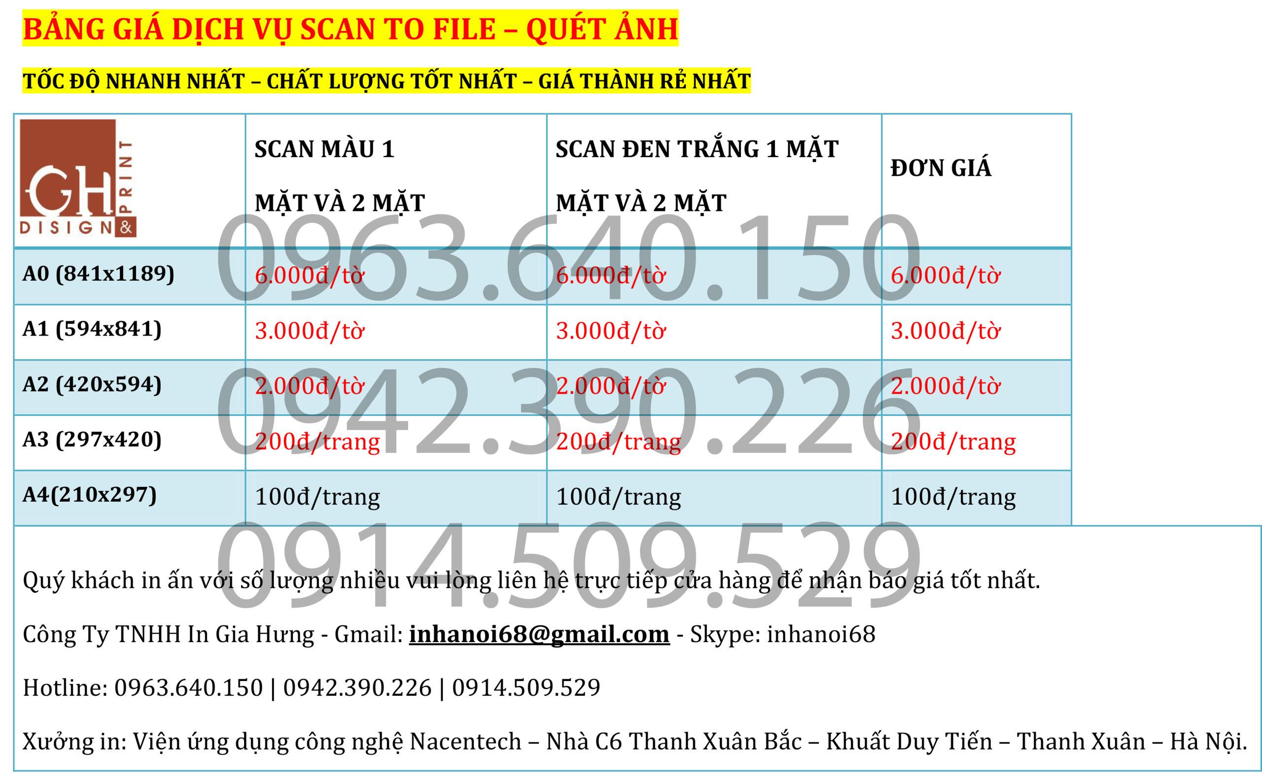 9. Photo màu giá rẻ tại Hà Nội. Photo tài liệu màu giá rẻ nhất Tại Hà Nội.