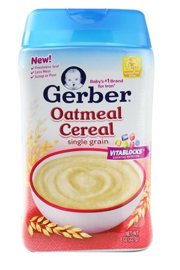 Bột Ăn Dặm Cho Bé Gerber Rice Cereal Single Grain - 1