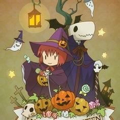 Halloween with Chise x Elias. <3